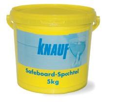 Шпаклевка радиационно-защитная Кнауф Сейфборд Шпахтель